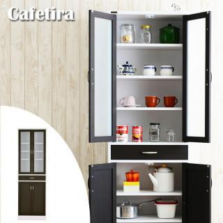 食器 棚 木製 北欧 収納 台所 キッチン ボード カップ ラック キャビネット(キッチン収納)