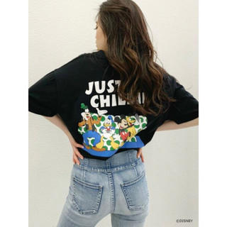 GYDA - GYDA MICKEY & FRIENS/JUST CHILLIN' Tシャツ