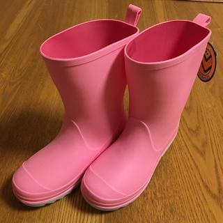crocs - 新品・未使用!kenkenpa キッズレインブーツ 長靴 18cm