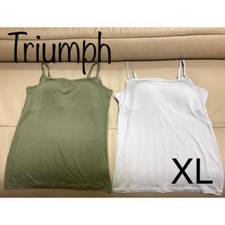 Triumph - ☆新品未使用☆ トリンプ ブラトップ XL2枚セット