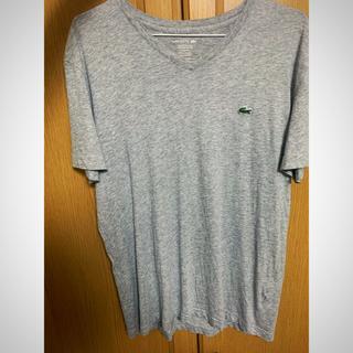 ラコステ(LACOSTE)のラコステ vネックシャツ(Tシャツ/カットソー(半袖/袖なし))