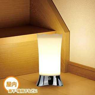 ☆人気商品☆LEDセンサーライト 3つモード暖色系(蛍光灯/電球)