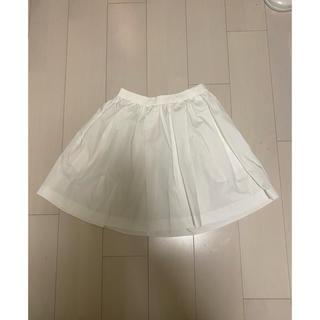 アダムエロぺ(Adam et Rope')のアダムエロペ 白 スカート (ひざ丈スカート)
