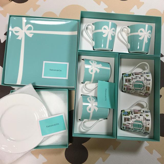 Tiffany & Co.(ティファニー)の新品 未使用 ティファニー 食器 9個セット インテリア/住まい/日用品のキッチン/食器(食器)の商品写真