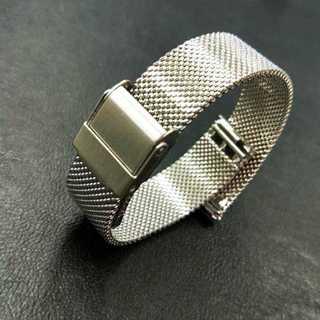 時計バンド ステンレス メッシュ 12mm ユニセックス 腕時計 替え 14mm(金属ベルト)