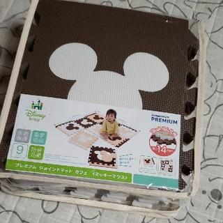 ディズニー(Disney)のプレミアムジョイントマット カフェ(ミッキー)(フロアマット)