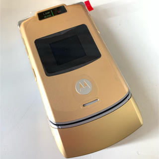 エヌティティドコモ(NTTdocomo)の外装交換後未使用 NTTドコモ ドルガバ携帯 M702is 日本未発売品多数(携帯電話本体)