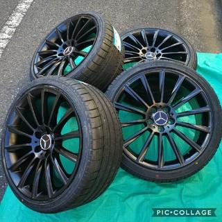 ベンチ(Bench)の新品 タイヤホイール4本セット ベンツ Eクラス W212 BK836 19イン(タイヤ・ホイールセット)