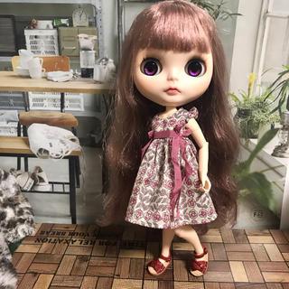 小さな袖のワンピース 24(人形)