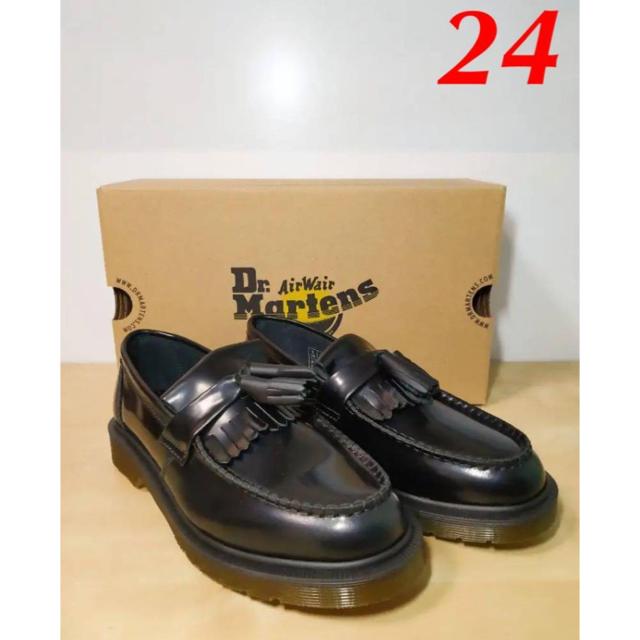 ドクターマーチン エイドリアン タッセルローファー 24cm レディースの靴/シューズ(ローファー/革靴)の商品写真