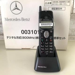 エヌティティドコモ(NTTdocomo)の希少品 未使用 NTT docomo P206 メルセデスベンツ携帯(携帯電話本体)