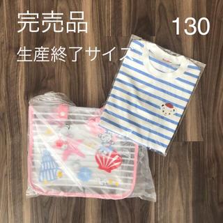 ファミリア(familiar)のファミリアビーチバッグ ファミリアTシャツ130サイズ(その他)
