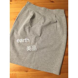 アースミュージックアンドエコロジー(earth music & ecology)のearth スカート(ひざ丈スカート)