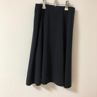 アマカ(AMACA)のアマカ フレアスカート 美品 38   AMACA(ひざ丈スカート)