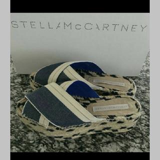 ステラマッカートニー(Stella McCartney)のStella McCartney サンダル シューズ 24.5 25.0 ヒール(サンダル)