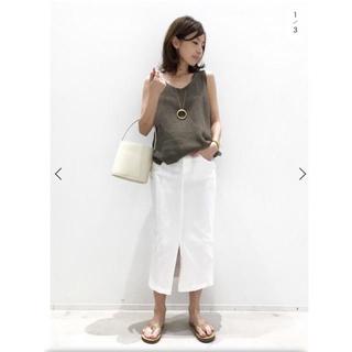 L'Appartement DEUXIEME CLASSE - L'Appartement White Denim スカート◆