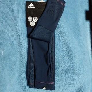 アディダス(adidas)の新品☆adidasアームカバー(ロング65cm)(手袋)