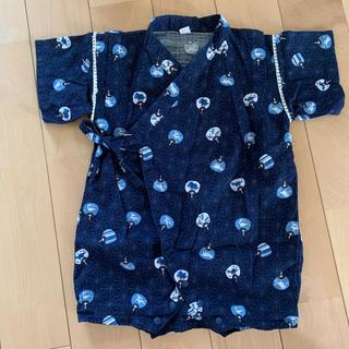 ニシマツヤ(西松屋)の70 甚平 ロンパース(甚平/浴衣)
