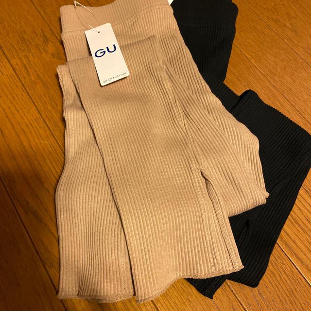 GU(ジーユー)のGU フルレギンス 2枚セット 新品! レディースのレッグウェア(レギンス/スパッツ)の商品写真