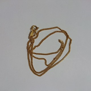 ゴールドチェーン (silverの刻印)(ネックレス)