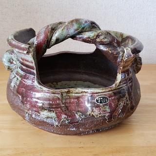 信楽焼  花器  花瓶(花瓶)