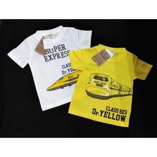 ジェイアール(JR)の【新品】JR東海承認済 ドクターイエロー Tシャツ2点セット(100サイズ)(Tシャツ/カットソー)