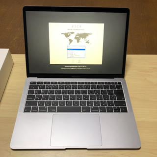 マック(Mac (Apple))のMacBook Air(2019)MVFH2J/A(ノートPC)