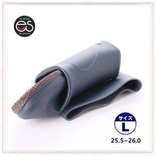 【19044_NAVY_L】 折り畳み式レインブーツ 携帯と保管に便利*1(長靴/レインシューズ)