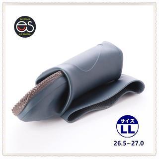 【19044_NAVY_LL】 折り畳み式レインブーツ 携帯と保管に便利*1(長靴/レインシューズ)