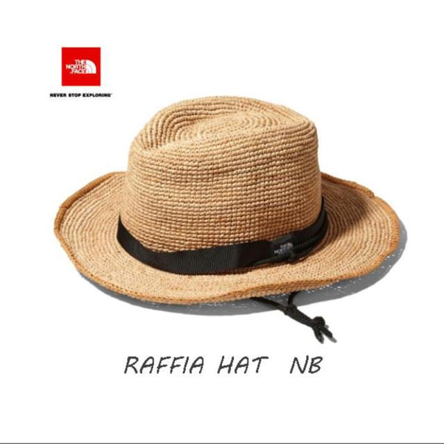 THE NORTH FACE(ザノースフェイス)の正規品★新品未使用 ラフィアハット ノースフェイス レディースの帽子(麦わら帽子/ストローハット)の商品写真