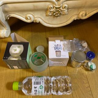セイカツノキ(生活の木)の新品 アロマキャンドル クローバー柄 ネコの回転木馬(アロマ/キャンドル)