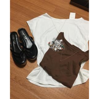 コウベレタス(神戸レタス)のTシャツ二枚&コルクウェッジソールトングサンダル(神戸レタス)(セット/コーデ)