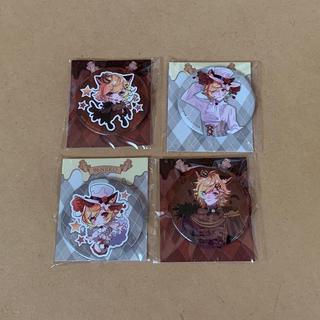 【夏特価】96猫 缶バッジ全4種コンプリートセット(ミュージシャン)