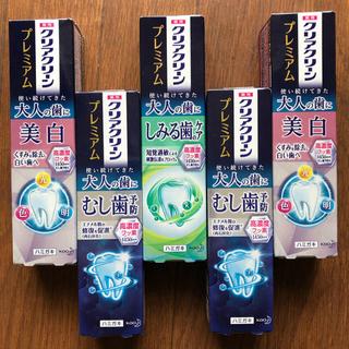花王 - クリアクリーンプレミアム 3種類 100g 5本