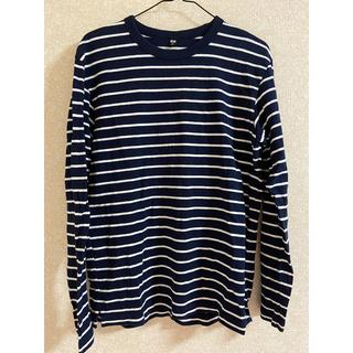 ユニクロ(UNIQLO)のUNIQLO ウォッシュボーダーT(長袖)(Tシャツ/カットソー(七分/長袖))
