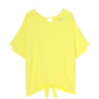 エモダ(EMODA)のEMODA エモダ バックドレープTシャツ タグ付き未使用品(カットソー(半袖/袖なし))