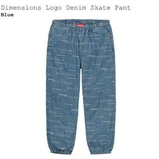 Supreme - Supreme Dimensions Logo Denim Skate Pant