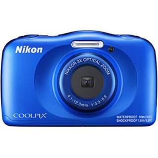 ニコン(Nikon)のNIKON 子供用カメラ COOLPIX w150 ブルー(コンパクトデジタルカメラ)
