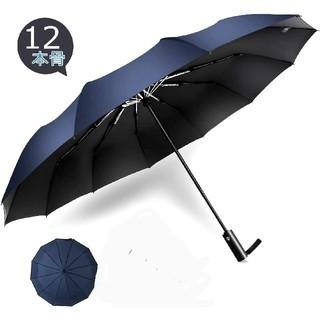 折りたたみ傘 ワンタッチ自動開閉 12本骨 晴雨兼用 超軽量 耐強風 超撥水(傘)