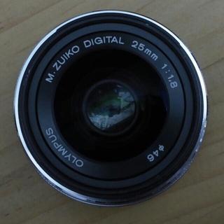 オリンパス(OLYMPUS)のウメダ専用 中古オリンパスレンズM.ZUIKO DIGITAL 25mm (レンズ(単焦点))