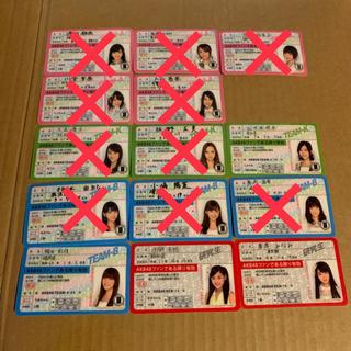  新品 AKB48 公式 免許証 バラ売り(アイドルグッズ)