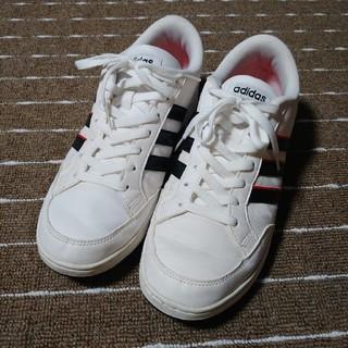 アディダス(adidas)のアディダス スニーカー 27cm 白色(スニーカー)