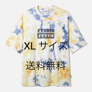 ジーユー(GU)のGU オーバーサイズT5分袖STUDIO SEVEN 2+X XLサイズ(Tシャツ/カットソー(半袖/袖なし))