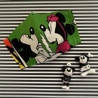 ディズニー(Disney)のインナーマスク・ミッキー柄・ミニー柄・レトロ柄・ディズニー柄(その他)