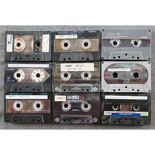 USED カセットテープ 9本(その他)