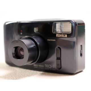 コニカミノルタ(KONICA MINOLTA)のKonica コニカ Big mini NEO-R 希少な ブラック #007(フィルムカメラ)