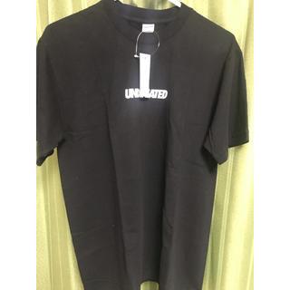 アンディフィーテッド(UNDEFEATED)のUNDEFEATED アンディフィーテッド ロゴTシャツ ホワイト Sサイズ(Tシャツ/カットソー(半袖/袖なし))