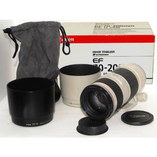 キヤノン(Canon)のキャノン Canon  EF 70-200mm F4L IS USM 付属品多数(レンズ(ズーム))
