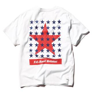エフシーアールビー(F.C.R.B.)のF.C.Real Bristol 43 STAR TEE WHITE Mサイズ(Tシャツ/カットソー(半袖/袖なし))