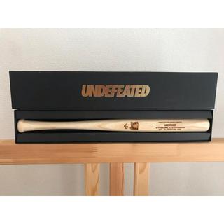 アンディフィーテッド(UNDEFEATED)のUNDEFEATED 大阪 梅田 オープン記念 ノベルティー 木製 バット(ノベルティグッズ)